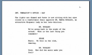 writing a short documentary script examples