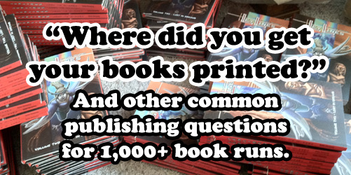 Where Did You Get Your Books Printed?