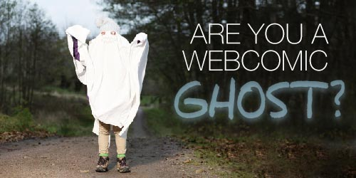 Are you a Webcomic Ghost?