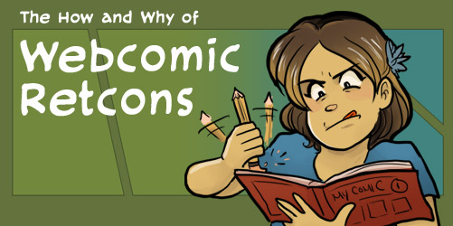 Webcomic Retcons