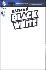 DC Black & White Sketch Cover