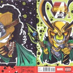 NEW Back Loki Sketch Cover