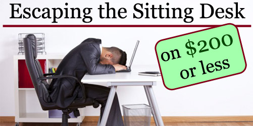 Escaping the Sitting desk