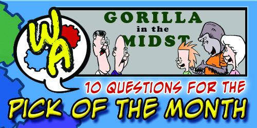 "POTM Interview: Chris Simonite of ""Gorilla in the Midst"""